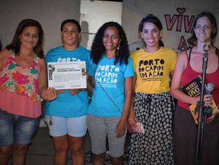 Instituições apoiam a causa dos moradores do Porto do Capim