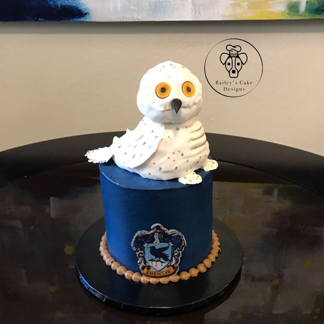 Ravenclaw Cake