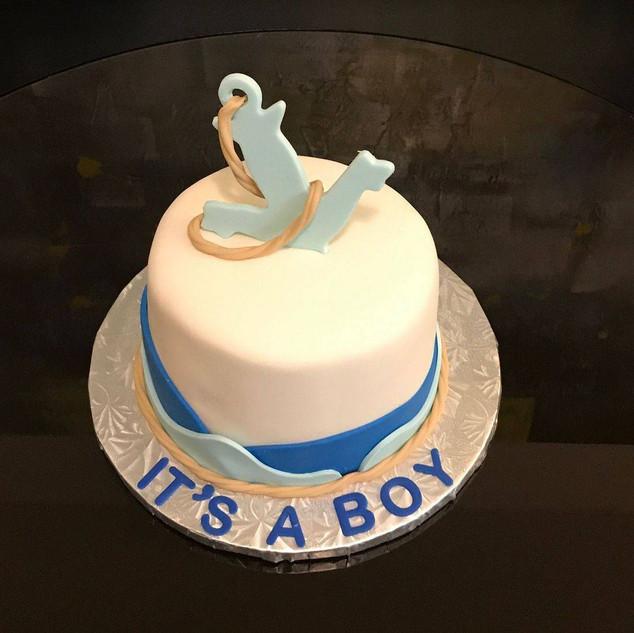 It's A Boy-Anchor Cake