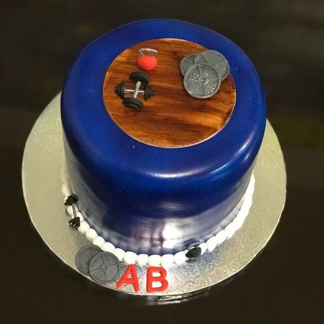 Crossfit Cake