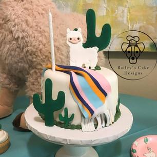 Llama Cake