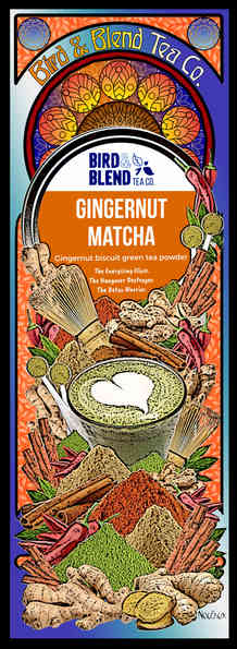 Bird & Blend Gingernut Matcha