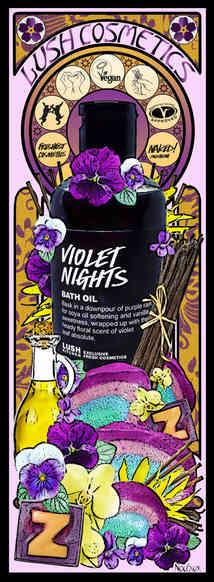 LUSH Violet Nights