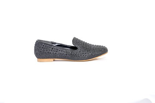 Helen Heart Loafer Bl