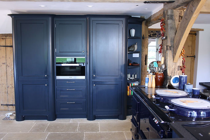 Hand painted kitchen services, The Painted Cabinet, Devon, Cornwall, Dorset, Somerset