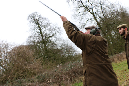 The best simulated game shooting Hampshire