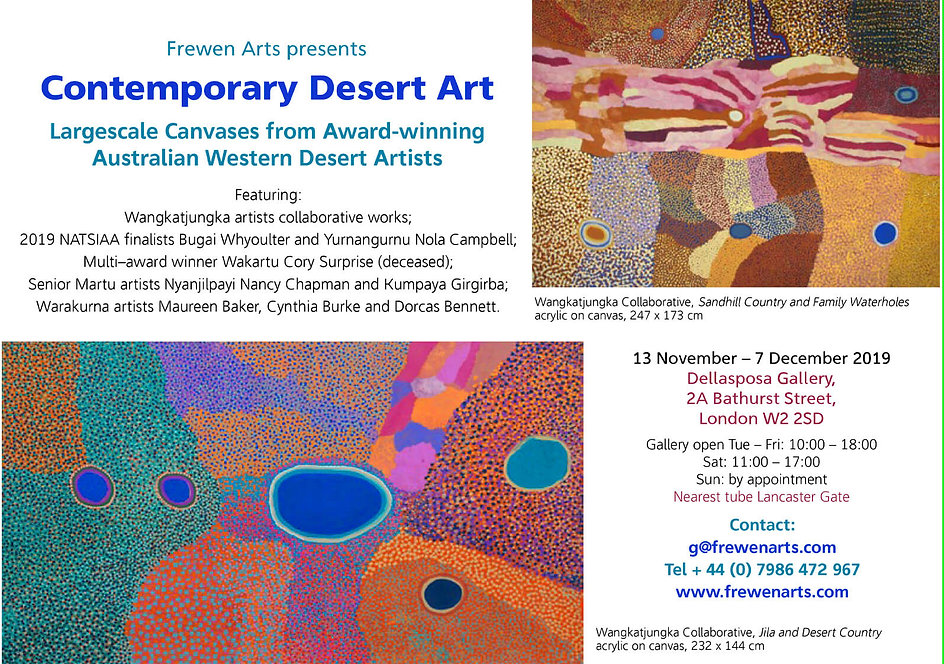 Frewen Arts - Contemporary Desert Art Ex