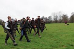 Bespoke simulated game shoots Hampshire