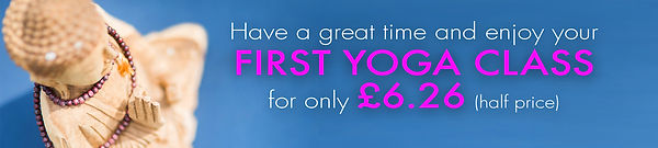 Roessa Marks Yoga First Lessons at Half Price