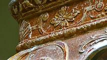 Antique table restoration, Emma Seymour