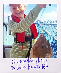 Bespoke Fishing Charters, Lymington, Hermit Charters