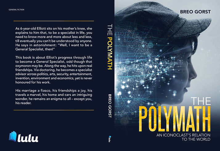Breo Gorst Author, First book release -The Polymath