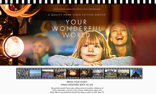 Home Video Editing Service - Your Wondef