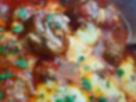 Jane Devonshire's recipe: Cheesy meatballs in rich tomatoe sauce