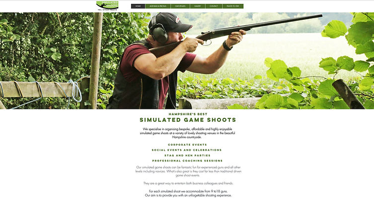 Simulated Game Shoots Hampshire - www.On