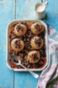 Jane Devonshire - Baked Apples with Sultanas, Walnuts and Golden Syrup