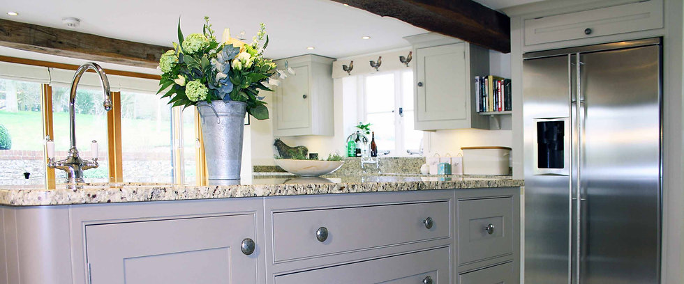 Hand painted kitchen services, The Painted Cabinet, Hampshire