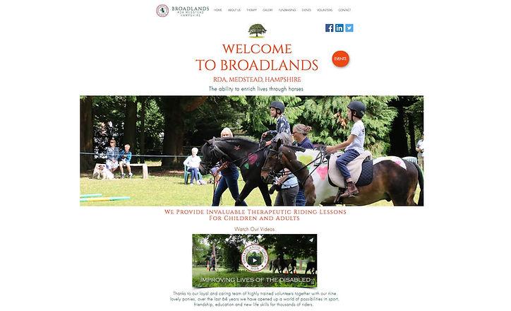 One2One Website Design, Broadlands RDA, Medstead.jpg