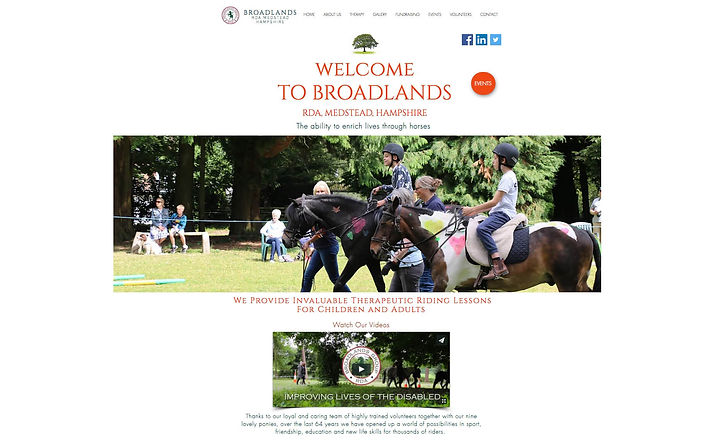 One2One Website Design, Broadlands RDA, Medstead.jpg