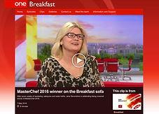 Masterchef Winner Jane Devonshire on BBC Breakfast