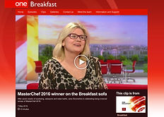 Masterchef Winner Jane Devonshire on BBC Breakfast