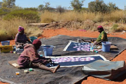 Martu Artists out country.