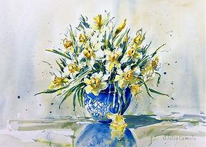 Julia Cassels - Wildlife Artist, 'Spring',  Watercolour,  50 x 70cm - Framed  £2,200.00