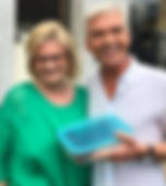 Jane Devonshire with Phillip Schofield
