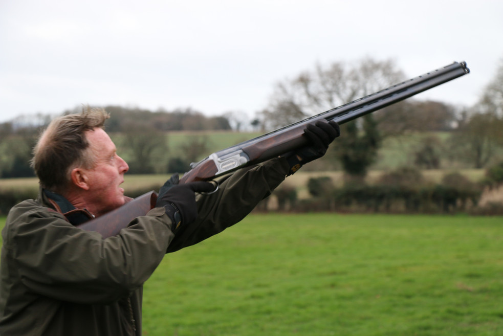 Duncan Jeans, Events Manager for Simulated Game Shoots Hampshire