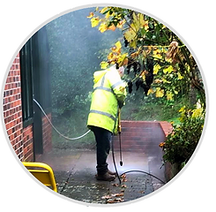 Patio and Driveway Cleaning, Property Worx Ltd - Berkshire, Hampshire, Surrey, Oxfordshire, London