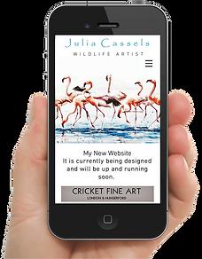 One2OneWebsiteDesign - Julia Cassels Wil