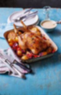 Jabne Devonshire MasterChef Winner Simple one-pan roast chicken