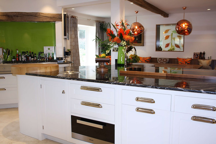 Hand painted kitchen specialist, The Painted Cabinet, Devon, Cornwall, Dorset, Somerset