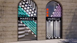 MARELLA/CAMILE WALLALA M WINDOW DISPLAYS 2018