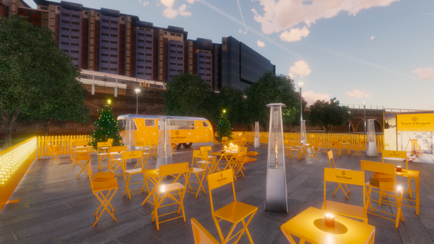 VEUVE CLICQUOT OUTDOOR ACTIVATION