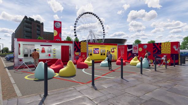NIKE- NETBALL WORLD CUP POP UP