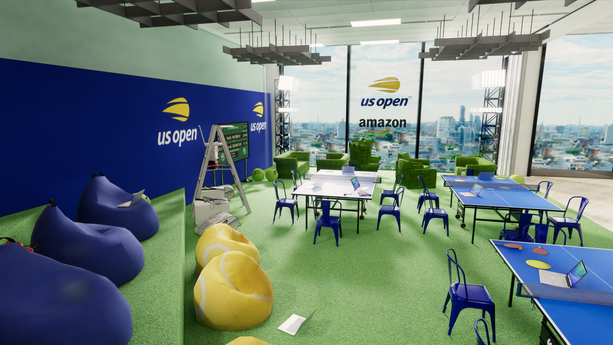 AMAZON US OPEN ACTIVATION 2018
