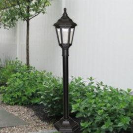 Elstead-Kinsale-Pillar-Black-Outdoor-Ped