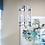Thumbnail: Antique Brass or Chrome 3-Light Modern Lantern Pendant