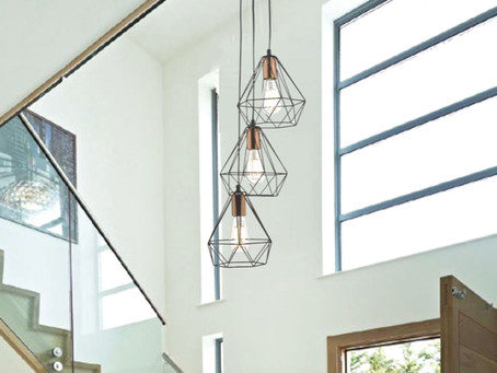 6 Lighting Design Trends for 2020 available at the new look Castle Lighting Omagh