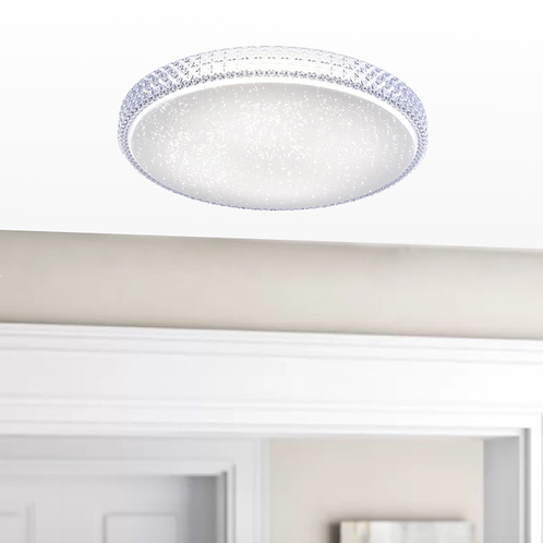 Round Twinkling LED Wall or Ceiling Light