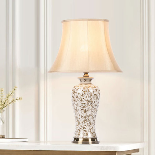 Elegant Brushed Bronze Table Lamp