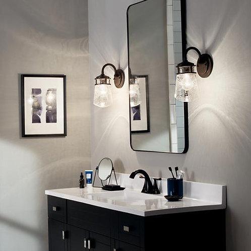 Bronze Bathroom Wall Light