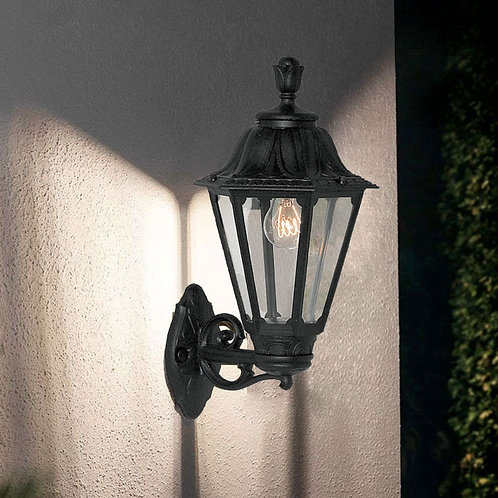 Traditional Hexagon Shaped Outdoor Wall Light