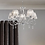 Thumbnail: Polished Chrome 5 Ceiling Lights with Crystal Effect Shades