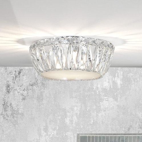 Crystal 3-Light Flush Ceiling Fitting