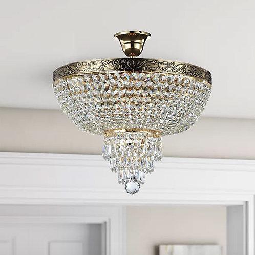 Flush 5-Light Chandelier Ceiling Fitting