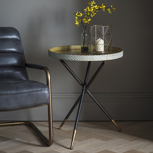 Chic Tripod Side Table