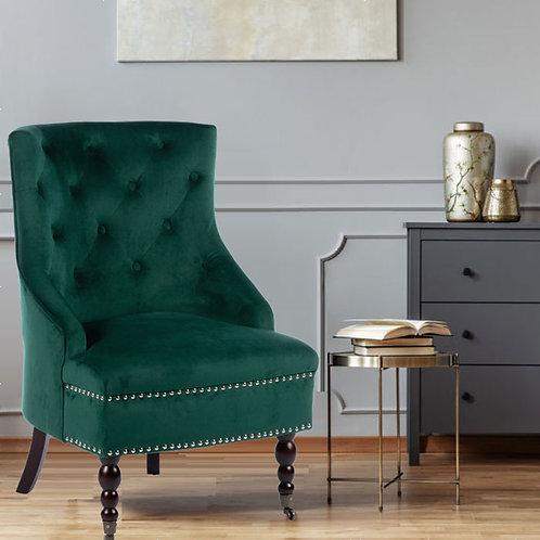 Smooth Velvet Torino Accent Chair