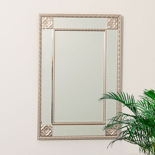 Orchid Detailed Wall Mirror
